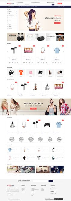 The Prime Shop The Multi Store Template is a good choice for selling Website Design Inspiration, Website Design Layout, Computer Theme, Ecommerce Website Design, At Home Furniture Store, Photoshop, Shopping Websites, Tool Design, Design Ideas