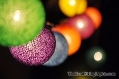 Thailand string lights