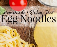 Making your own gluten-free egg noodles is so easy! Check out these simple…