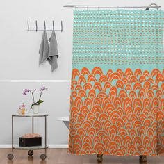Budi Kwan Infinite Tidal Shower Curtain