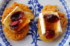 Apricot Cranberry Brie Hors D'Oeuvres Recipe