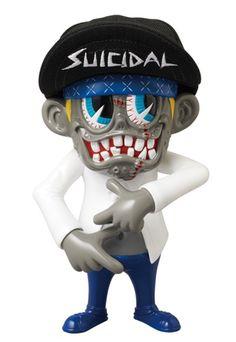 """Suicidal Tendencies x ZacPac x Medicom – Exclusive 'Institutionalized' S""""K""""UM-kun Release"""