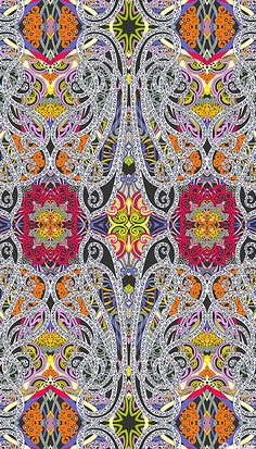 'Paisley' from the 'Fabrique-istan' collection by Paula Nadelstern for Benartex.