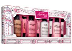 Beauty Gifts You Can Score in Just One Trip to the Mall - Philosophy The Gingerbread House Set from InStyle.com