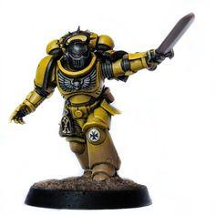 Warhammer Figures, Warhammer Models, Warhammer 40k Miniatures, Army List, Deathwatch, Imperial Fist, The Grim, Space Marine, Make Art