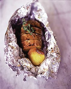 garlic, thyme and anchovy baked potatoes | Jamie Oliver | Food | Recipes (UK)