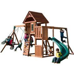 Swing-N-Slide Cedar Brook Play Set - http://hobbies-toys.goshoppins.com/outdoor-toys-structures/swing-n-slide-cedar-brook-play-set/