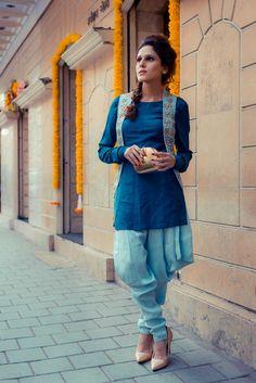 my inspiration Kurti Designs Party Wear, Kurta Designs, Blouse Designs, Pakistani Dresses, Indian Dresses, Patiyala Dress, Indian Designer Suits, Desi Wear, Two Piece Dress
