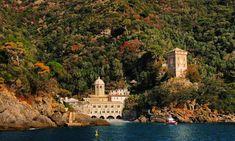 Abbazia di San Fruttuoso - Liguria An Italian jewel Reached by boat from Camogli.  #bestof2018 #shots #photoshooting #magic #unic #unbelievable #pictures #pics #travelphotography #traveller #merveilleux #watercolor #coast #landmark #instagramphotos #instago #iglesias #abbey #liguria #viaggio #discovery #destination #viaggiare #landscape #panorama #surfing