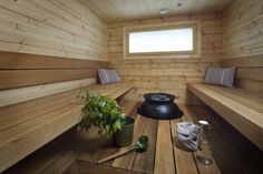 Honka log homes provide a cozy and warm living environment with natural building materials, high indoor air quality and a stress-reducing atmosphere. Gable Wall, Spa Rooms, Natural Building, Bay Window, House In The Woods, Indoor Air Quality, Building Materials, Log Homes, Interior Inspiration