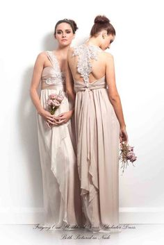 Anna Campbell bridesmaid dresses