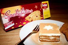 Spekulatius - Schichtessert! Saftiges Dessert mit Apfelmus und Sahne! www.rezepte-glutenfrei.de