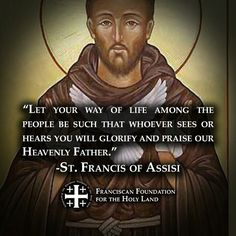 "St Francis Of Assisi Quotes I Am As I Am In The Eyes Of Godnothing More Nothing Less."" St ."