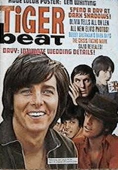 Bobby Sherman - had a little crush on him but dumped him as soon as I discovered David Cassidy. heh
