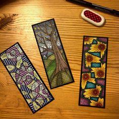 Tangle Doodle, Tangle Art, Zen Doodle, Doodle Art, Zentangle Drawings, Doodles Zentangles, Zentangle Patterns, Watercolor Bookmarks, Watercolor Paper