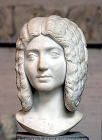 Julia Domna, the educated and strong-willied wife of Septimius Severus, mother of Caracalla and Geta.