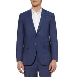 Richard James - Blue Wool and Mohair-Blend Suit|MR PORTER