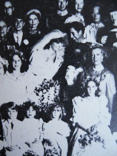 Wedding Day - Rare Pic. 29 July 1981.