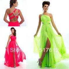 chiffon prom gown