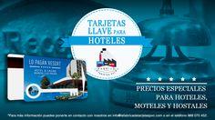 Campaña tarjetas llave para hoteles