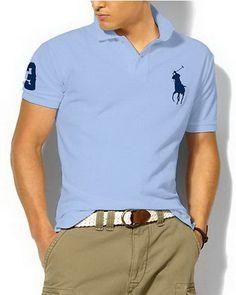 Ralph Lauren Men's Classic Slim-Fit Big Pony Short Sleeve Polo Shirt White  / Dark Green http://www.hxzyedu.cn/?blog=ralph+lauren+polo+outlet |  Pinterest ...