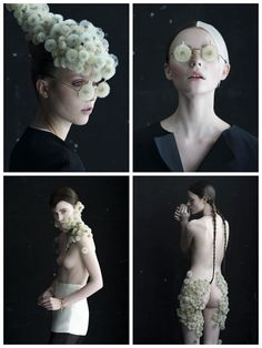 Dandelion Portraits by Isabelle Chapuis and Duy Anh Nhan Duc #Art, #Flower, #Portrait