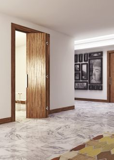The new folding-door system Pratico profits from halffinished door posts and standard doors, with a few changes only. Discover more on our website Invisible Hinges, Sliding Door Systems, Door Numbers, Concealed Hinges, Folding Doors, Wooden Doors, Website, Architecture, Frames