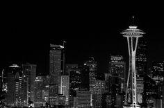 Seattle by billhinsee, via Flickr