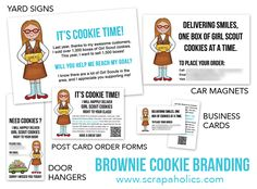 How to sell more girl scout cookies part two daisies pinterest cookiebranding brownie how to sell more girl scout cookies part two colourmoves Image collections