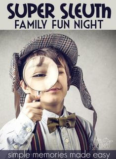 It's our sneakiest family fun night yet! Can you follow the clues or will you be left in the darK?