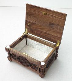 Flor de la vida pequeño joyero caja de regalo por BulgarMaster
