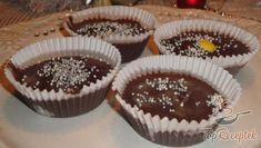 18 fantasztikus sütés nélküli karácsonyi desszert, édesség, oldal 1 | TopReceptek.hu Thing 1, Cake Recipes, Muffin, Nutella, Sweets, Breakfast, Christmas, Food, Top Recipes