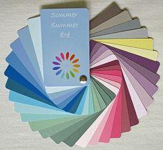 Sommertyp Farbpalette