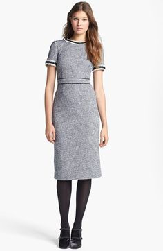 'Rosemary' Tweed Sheath Dress | @Nordstrom + @Tory Burch