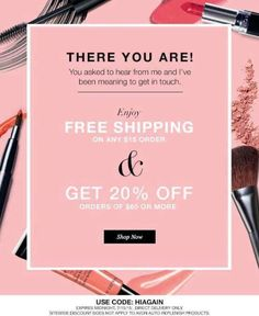 Avon FREE Shipping on $15 or 20% discount on $60. Offer ends 7/15 at http://beautywithmary.com #AvonFreeShipping #AvonCouponCode