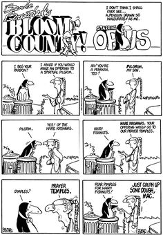 Pear pimples for hairy fishnuts - Bloom County
