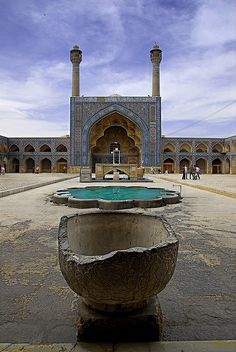 The UNESCO-listed Masjed-e Kame in Esfahan is Iran's oldest preserved structure of its kind. Iran: the Bradt Guide www.bradtguides.com