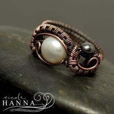Two Swirl Ring Tutorial by Nicole Hanna | JewelryLessons.com