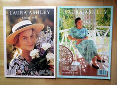 VINTAGE 1991 LAURA ASHLEY CATALOGUES WOMEN'S FASHION CLOTHING SPRING & SUMMER