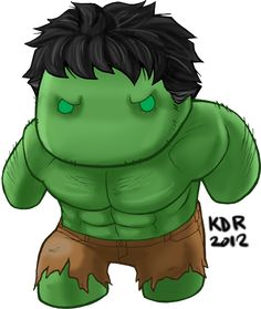 Hulk Smash Cartoon Drawings