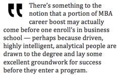 The MBA as Career Accelerant