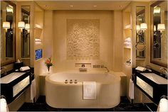 BeUtiful Art Deco bathroom design