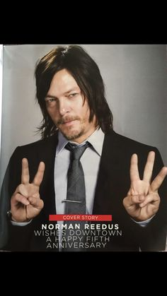 Norman Reedus -Downtown Mag