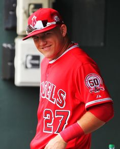 Mike trout wishing me luck on the CAHSEE, thanks, boo Best Baseball Player, Better Baseball, Best Player, Angels Baseball, Mlb Players, Mike Trout, American League, Oregon Ducks, All Star