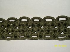 Trible cobra paracord braclet