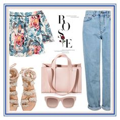 """""""I Feel Rosie In Jeans!"""" by onesweetthing ❤ liked on Polyvore featuring Topshop, Elizabeth and James, Elina Linardaki, Corto Moltedo and STELLA McCARTNEY"""