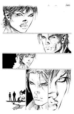 Hunter Killer #3 page 18 - Comic Art Work By Marc Silvestri - #comics…