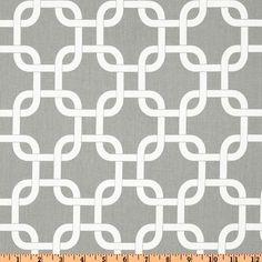 Grey fabric Gotcha storm twill Premier Prints Home by FabricSecret, $10.35