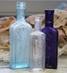 Instant Collection Vintage BOTTLES Dr. by VintageSupplyCo on Etsy