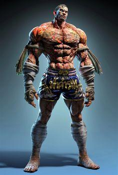 Game Character, Character Concept, Concept Art, Street Fighter Characters, Fantasy Characters, Fantasy Character Design, Character Inspiration, Tekken Wallpaper, Kon Bleach
